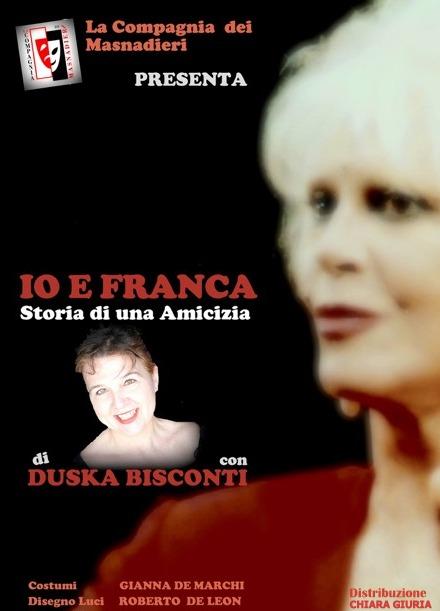 IO E FRANCA LOCANDINA